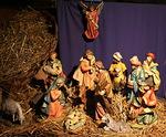 Suurikokoinen perinteinen Keski- ja Etelä-Euroopan jouluseimi, Italia