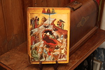 Kopio 1400-luvulla Venäjällä maalatusta jouluseimi-ikonista