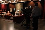 TV7 Kirja ohjelma tuotantonumerolla 100 on tekeillä, vieraana Salme Blomster