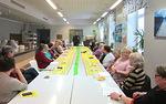 Torstain 30.4. Missio-iltaa vietettiin erilaisena vappujuhlana kristillisen koulun ruokalassa. Puhujana oli Timo Lehtikari.(Kuvat, Jaakko Harjuvaara)