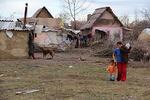 Cilindrun kylä on erittäin köyhä romanikylä