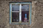 Kodin ikkuna Silindrussa, sopiva kuva EU:n joulukorttiin?