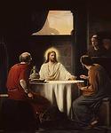 Jeesus Emmauksessa, Carl Heinrich Bloch s.1834-k.1890