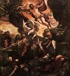 Ylösnousemus, Tintoretto, v.1579-81Ylösnousemus, Tintoretto, v.1579-81