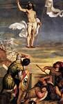 Ylösnousemus, Vecellio Tiziano, v.1542-45
