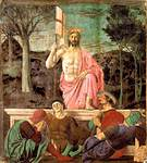 Jeesuksen ylösnousemus, Piero della Francesca, v.1463-65