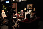 Studion valot on säädetty, äänet testattu ja kamerat ovat valmiina kuvaamaan viidennen jakson.
