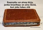 Raamattua saa lukea opettaja vierellä