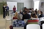 Pekan ja Anna-Liisan opetus oli innostavaa ja rohkaisevaa.