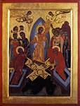 Ikoni, Bulgatia, 1675-1700, Ylösnouseminen,
