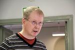 Rainer Jormanainen kävi mm. Risto Kormilaisen ja Erkki Lemisen runojen avulla läpi kurssin teemoja, tunnelmia ja vaiheita.
