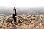 Vuorelta avautui kuikea näköala sekä kaupunkiin että Jisreelin eli Megiddon eli Harmageddonin tasangolle