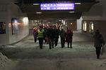 Junarata alitettiin tunnelin kautta...