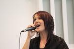Virpi Vilponen lauloi hengellisiä lauluja