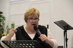 Johanna Tunturipuron vireä ja eloisa puhe sisälsi paljon painavaa asiaa sekä naisille että miehille