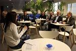 Sadatta ohjelmaa juhlittiin TV7 uuden Taivas studuin kahviossa
