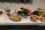 Tarjolla on jälleen monipuolisesti hedelmiä, vihanneksia, sapattileipää ja muuta herkullista.