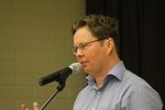 Raamattukoululaisen puheen piti Mika Rotola-Pukkila