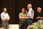 Ensin Tiekartta-iltoihin osallistuneita onniteltiin ja evästettiin jatkamaan Raamatun tutkimista...