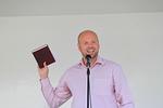 Päätösjuhlan erinomaisen puheen piti Arkin nuorisopastori Kari Muukka.