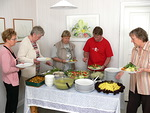 Myös ruuan maku ja maittavuus saivat monet ensikertalaiset yllättymään iloisesti.