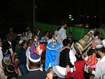 Aradissa saimme seurata vauhdikasta lehtimajanjuhlan päätösjuhlaa
