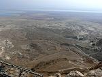 Näkymät Masadalta olivat henkeä salpaavat...