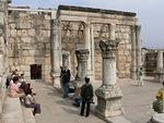 Kapernaumin synagogan raunioita