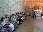 Kävimme Nasaretissa myös pienessä messiaanisessa synagogassa