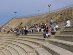 Kesarean entisöity amfiteatteri oli komea näky