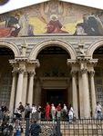 Getsemanen kirkko ulkoa...
