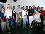 Ryhmämme vieraili myös TV7 Jerusalemin studiolla