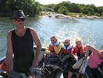Brändön Jurmossa asuva kalastaja Kaj tuntee väylät ja saaret kuin omat taskunsa.