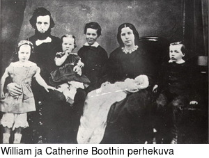 William ja Catherine Boothin perhekuva