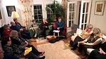 Ristinummella Reijon ja Kaijan kotona illan teeman alustajana oli Ilkka Kujala.