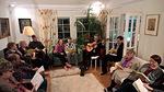 Missio-iltaa 19.2.2015 vietettiin Ristinummella Kaija ja Reijon kotona