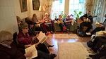 Torstaina 16.4. kotiseurat olivat Ristinummella Kaijan ja Reijon kotona