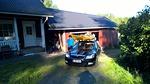 Kajakit ovat auton katolla ja matka Kustaviin voi alkaa.